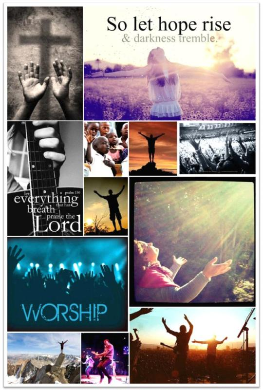 Moodboard of Praise