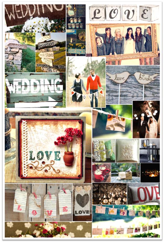 Here are some more ideas A lovethemed rustic bridal shower