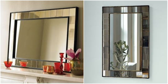 Tiled Wall Mirrors