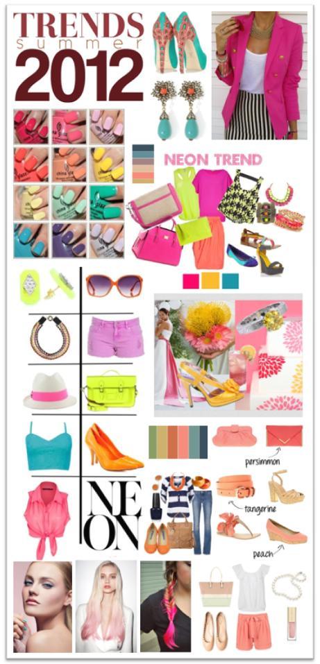 Summer 2012 Trend Moodboard