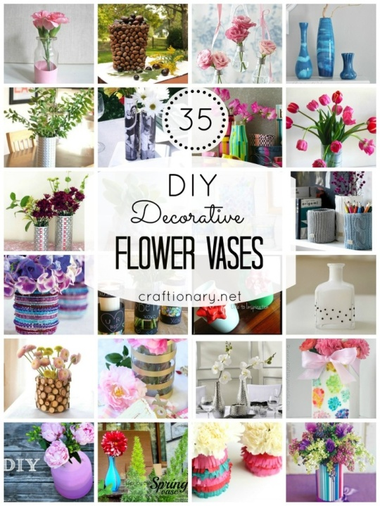 Some Amazing DIY Vase Ideas