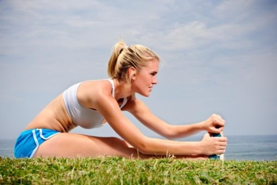 Make Stretching a Healthy  Part of Your LIfe