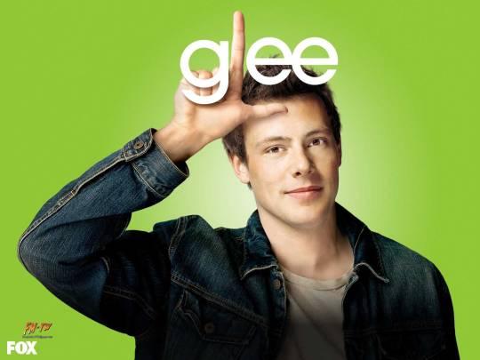 Cory Monteith as Finn Hudson in Glee