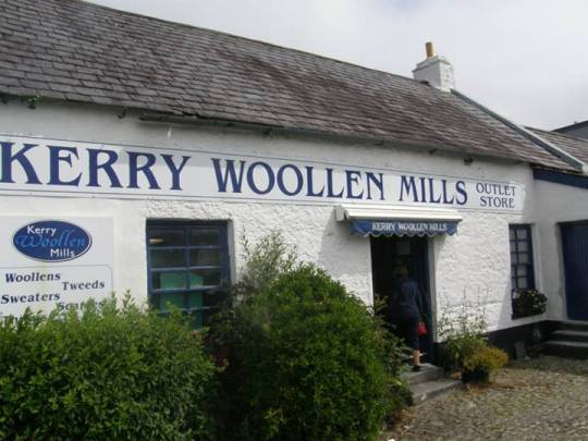 Kerry Woolen Mills in Kilarney