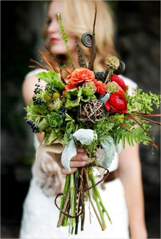 Woodland Wedding Bouquet