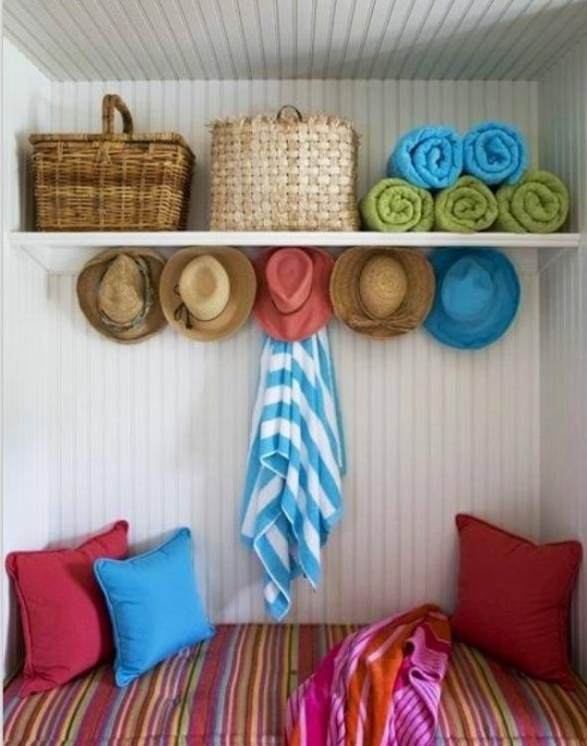 Colourful Storage Nook