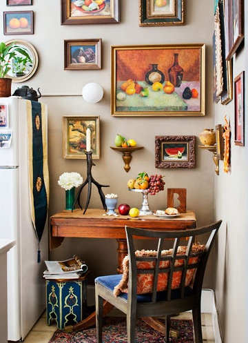A Framed Kitchen Nook