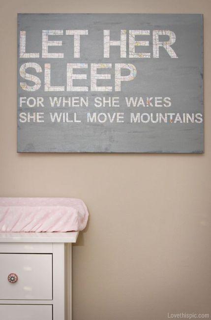 Let Her Sleep