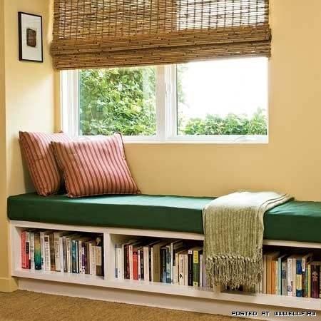 Reading Under the Window Nook