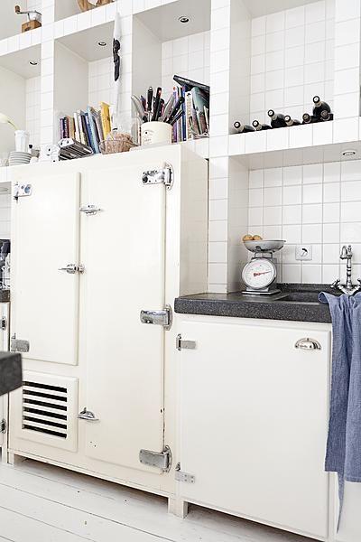 1950s White Kitchen